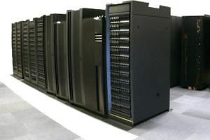 суперкомпьютер, на котором была запущена программа